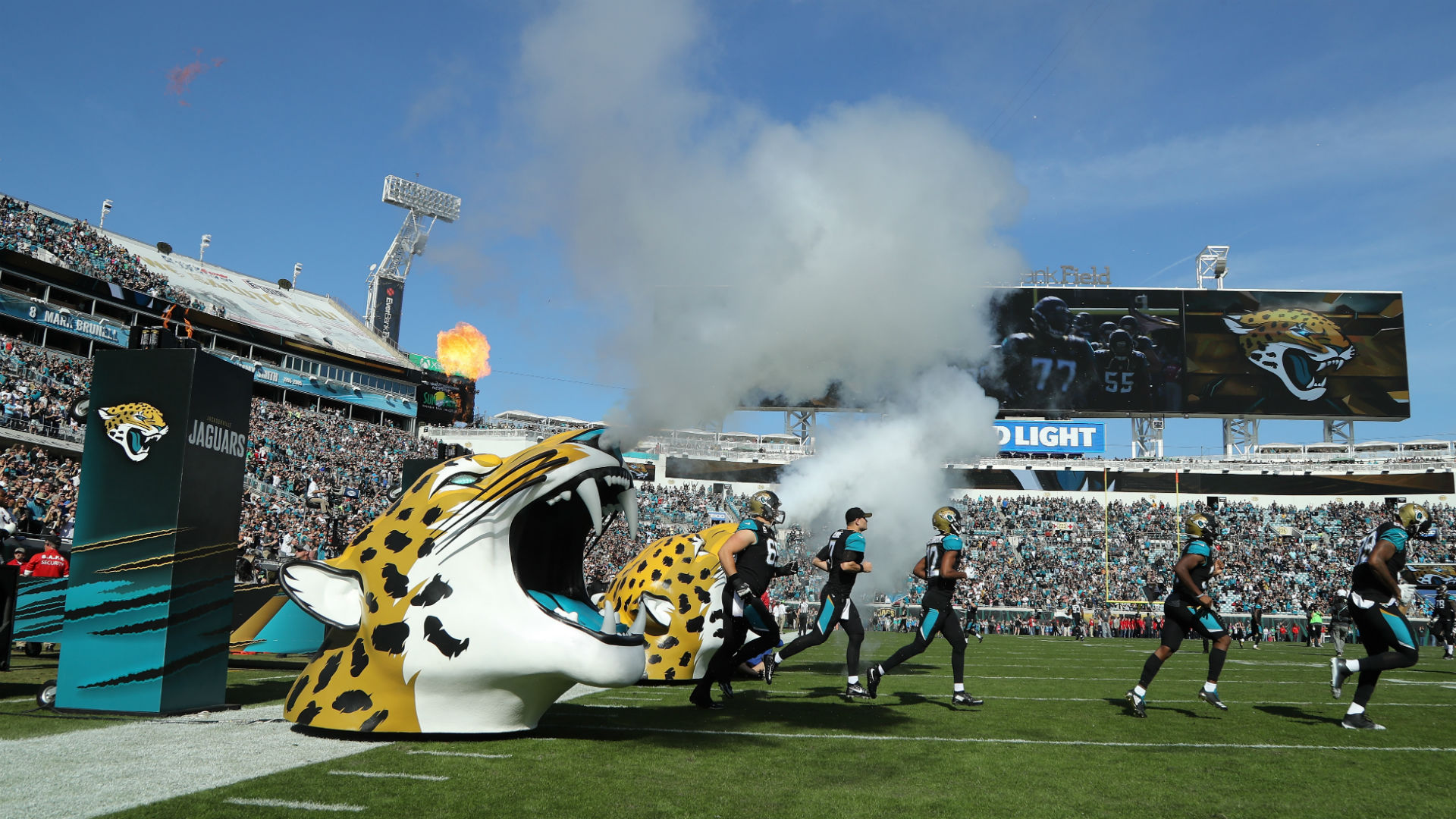 Jaguars Remove Tarps For Extra Playoff Seating; Tickets Sell Out In Minutes  | NFL | Sporting News