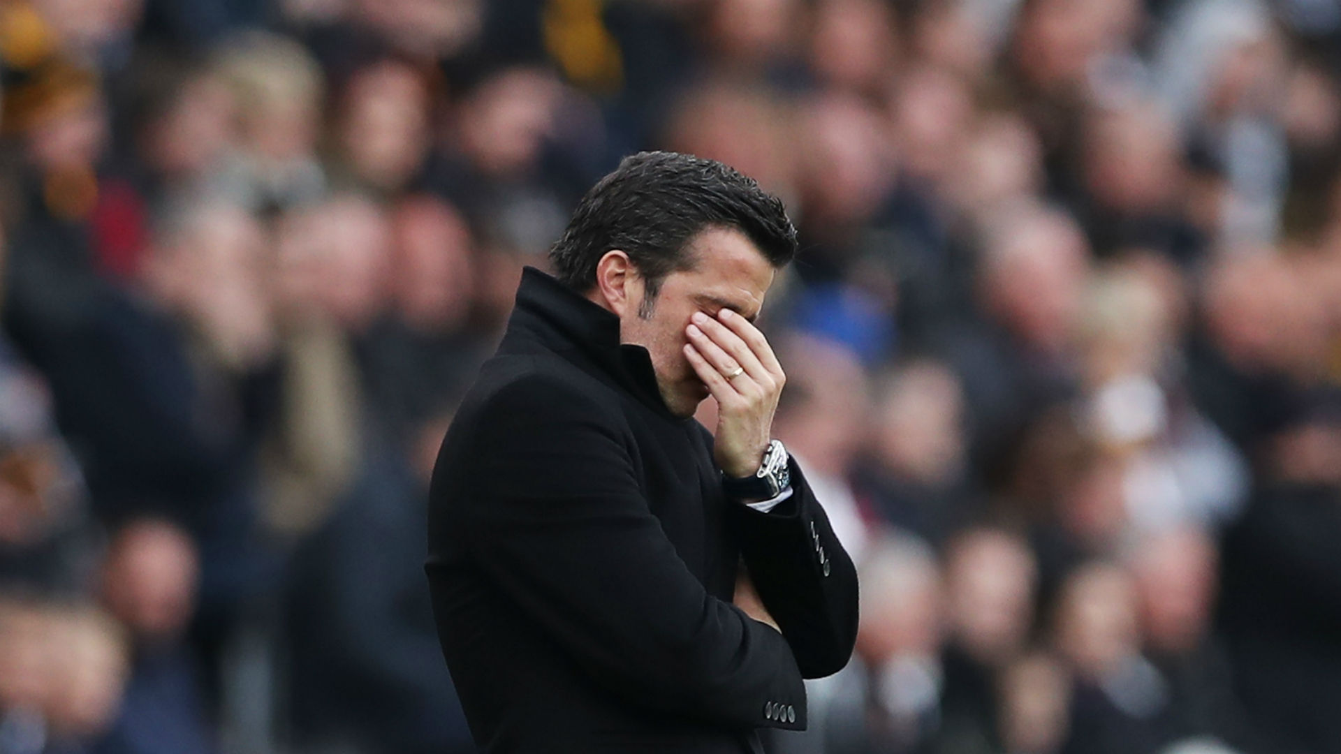 Silva calls for calm after Sunderland shocker