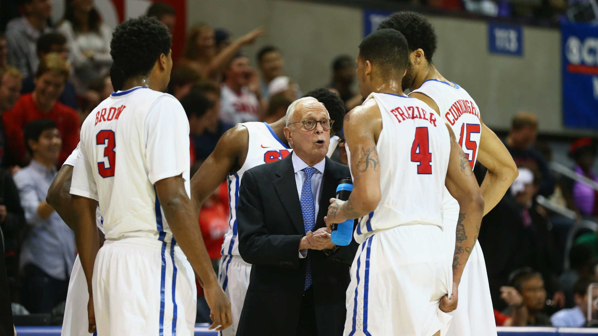 SMU coach Larry Brown
