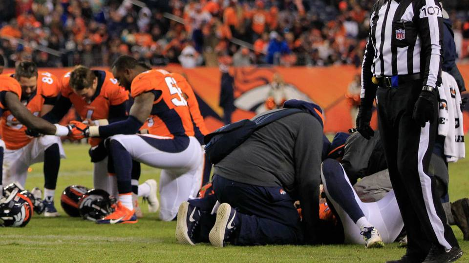 head injures in the nfl Here are the most significant nfl injuries in week 13:  was declared out of  monday's game with a head injury after being taken off the field on.