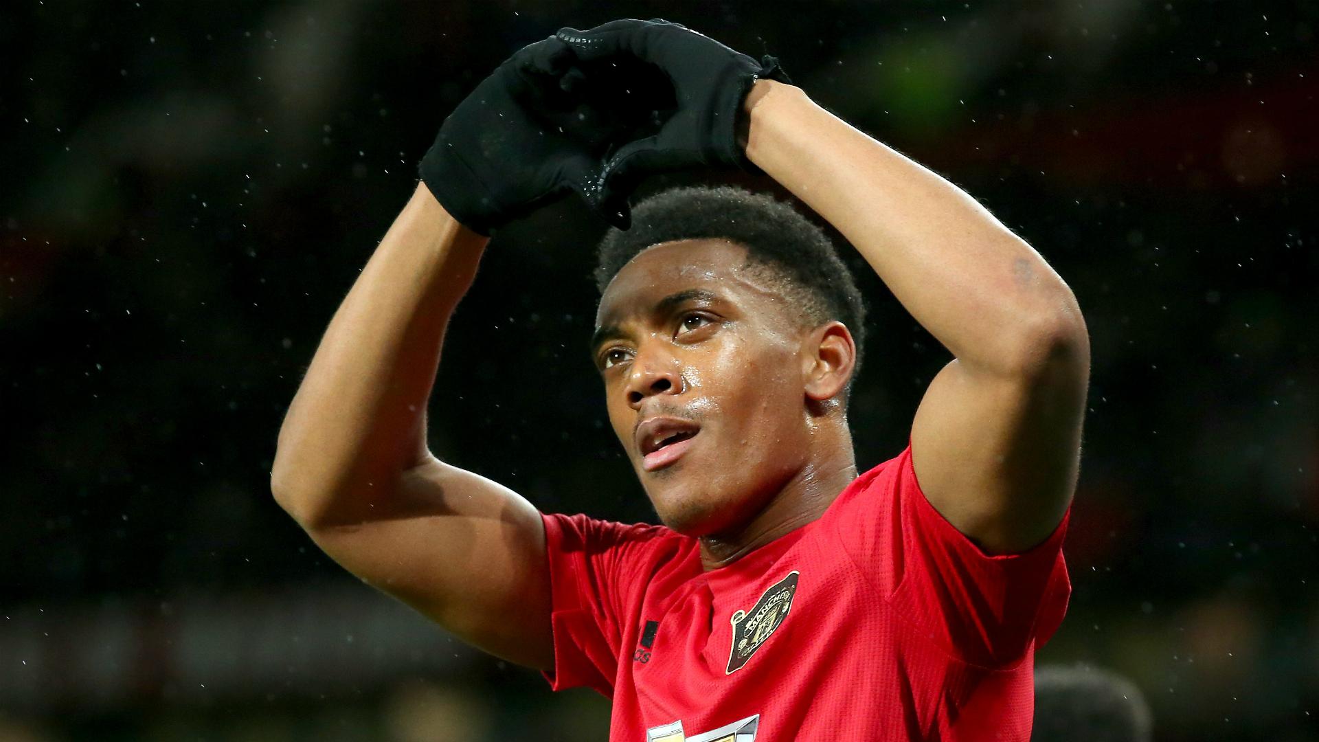 Martial return key to Man Utd improvement, says team-mate James