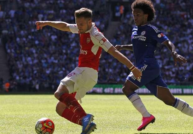 Arsenal's Wembley victory over Chelsea delights Aaron Ramsey