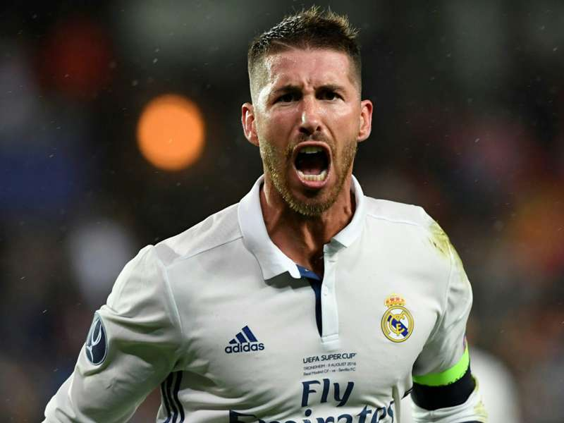 Ramos targets first Real Madrid treble