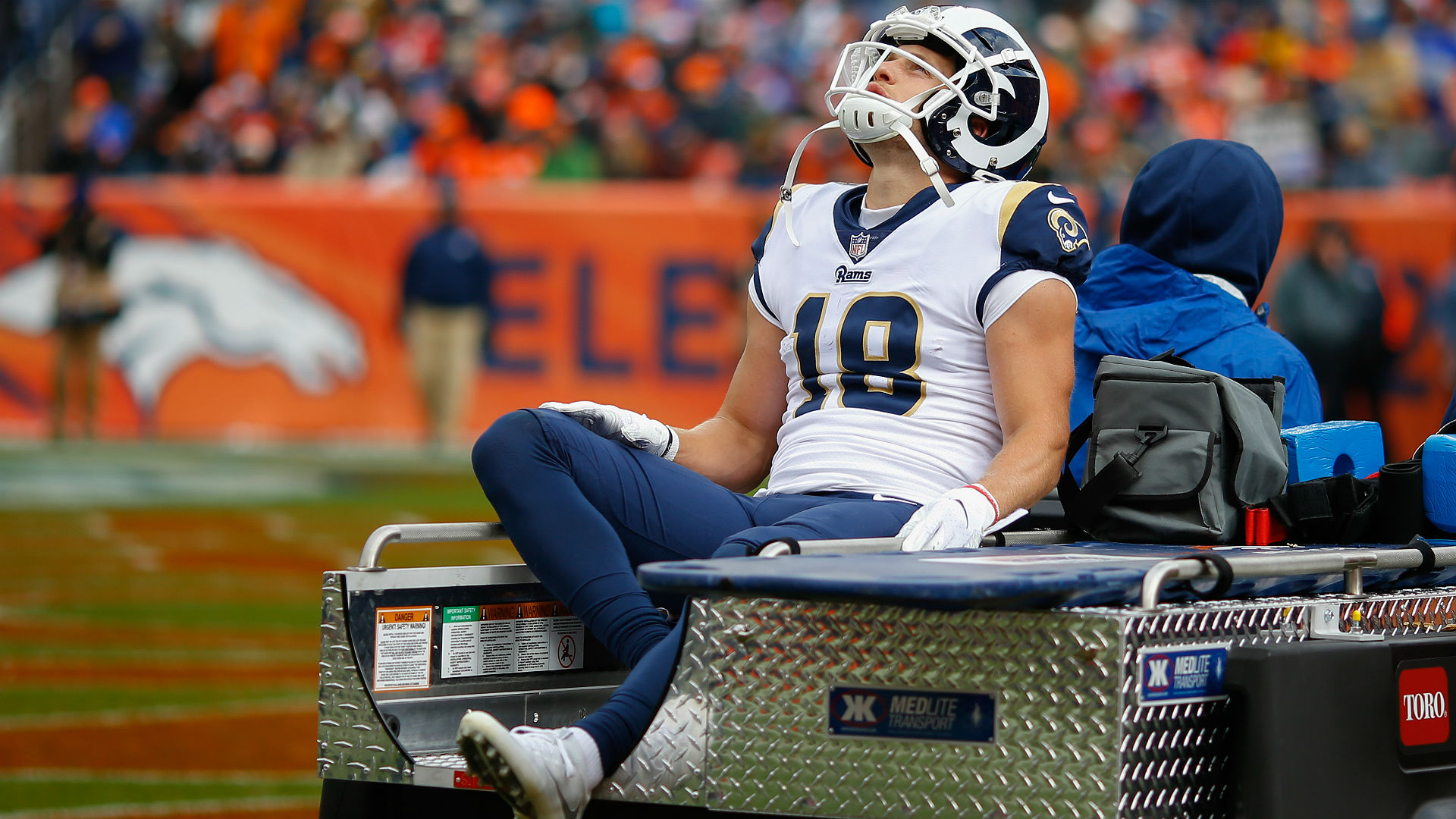L.A. Rams WR Cooper Kupp has sprained knee