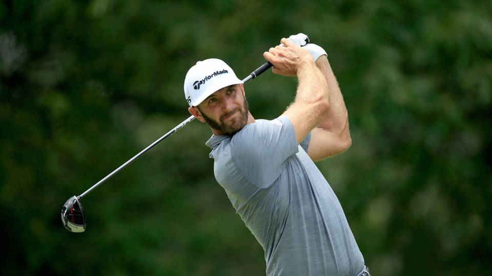 FedEx St. Jude Classic: Dustin Johnson holes out for eagle on final hole to earn season's second win