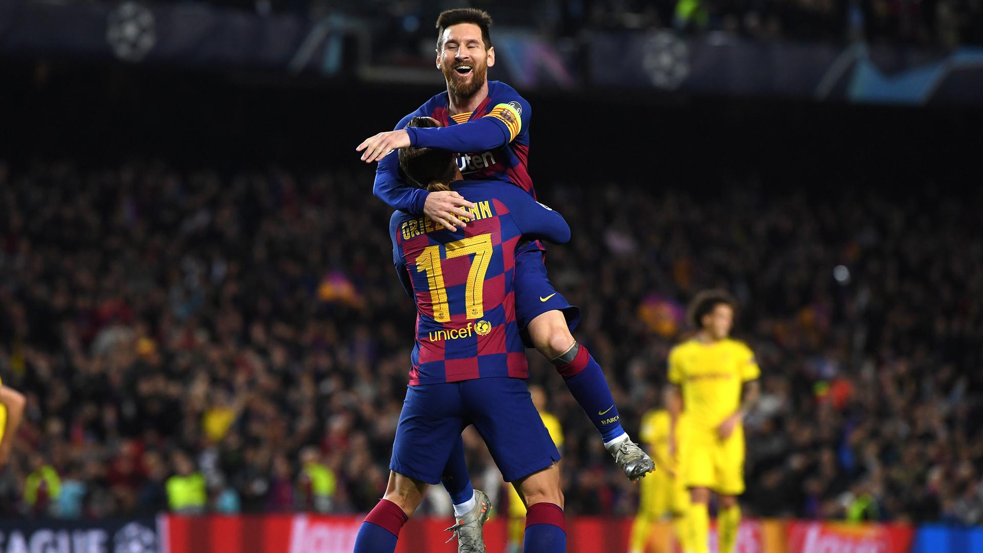 Valverde praises 'amazing' Messi after Dortmund masterclass