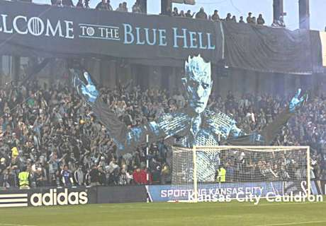 SKC fans use 'Thrones' image