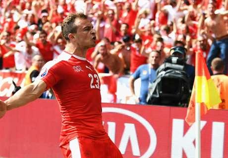 Shaqiri slams Poland players after loss
