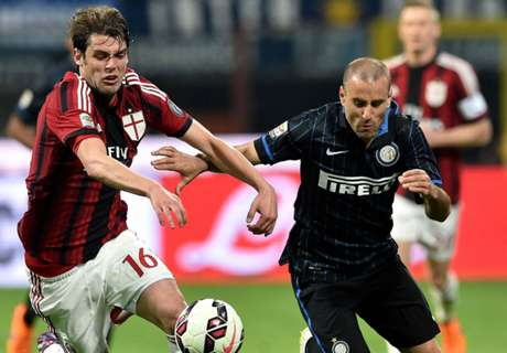 AC Milan ride their luck to hold Inter