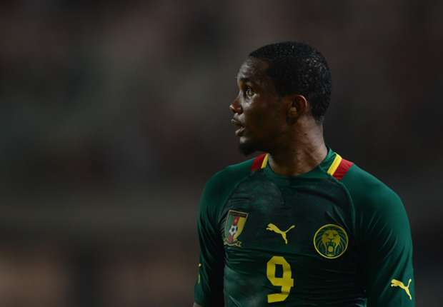Eto'o to equal Cameroon World Cup finals record