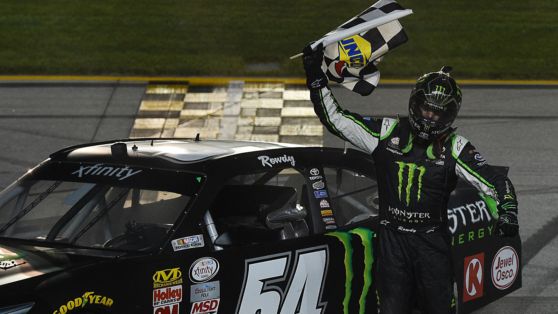 Kyle Busch wins Xfinity Series race at Chicagoland Speedway
