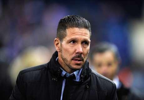 Simeone refuses to criticize Atleti