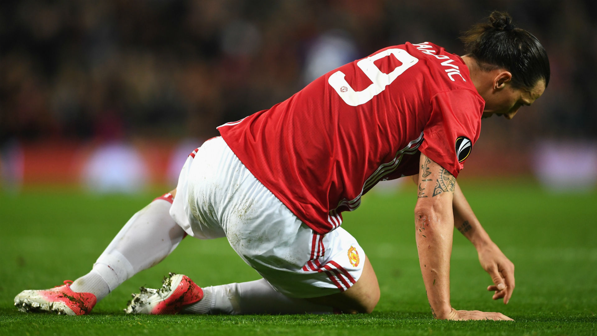 Zlatan Ibrahimovic and Marcos Rojo Injuries Overshadow Manchester United's Europa League Progression