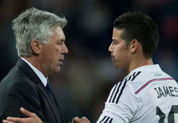 James must keep fighting to be a Madrid success, says Ancelotti