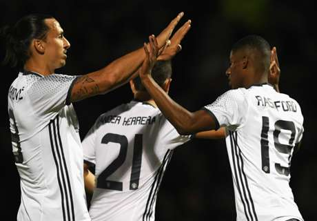 Rashford keen to learn from Zlatan