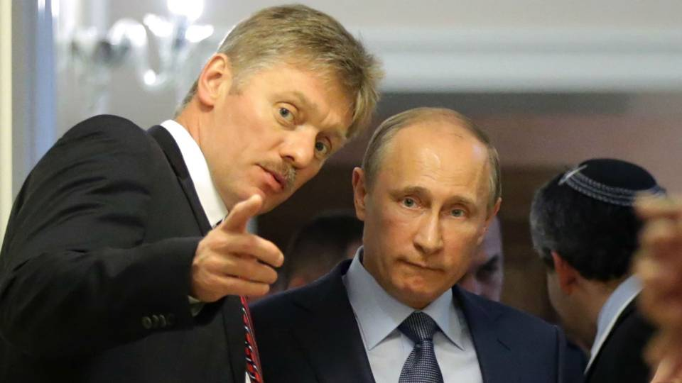 Dmitry Peskov and Vladimir Putin - cropped