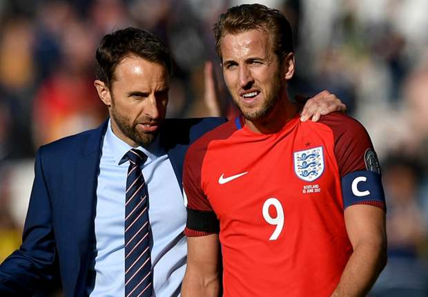 Image result for Tottenham striker Harry Kane to captain England against Slovenia