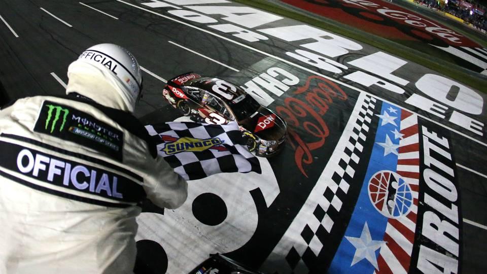NASCAR results at Charlotte: Austin Dillon takes No. 3 back to ...
