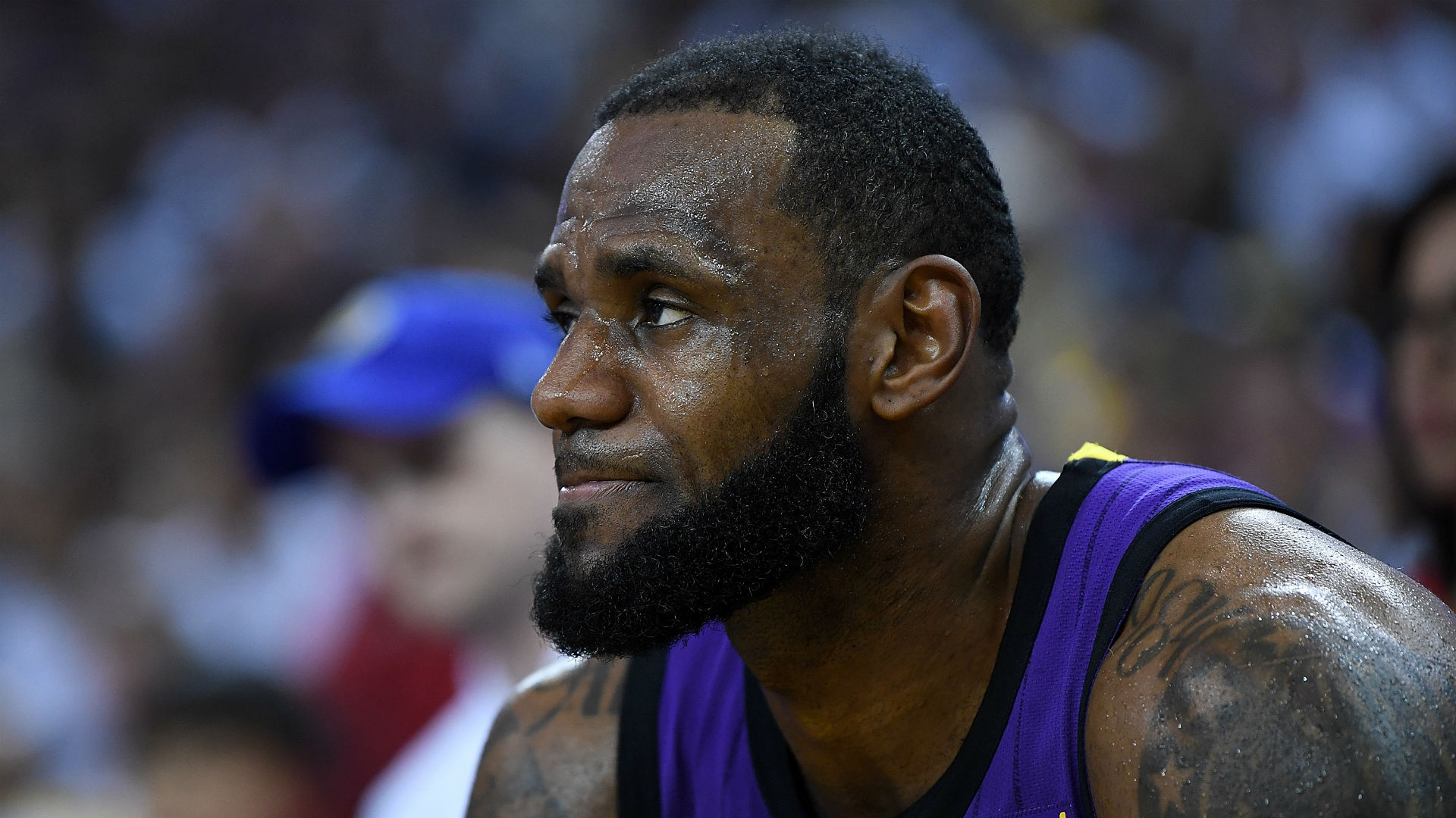 Lakers star LeBron James not surprised by high-flying 76ers