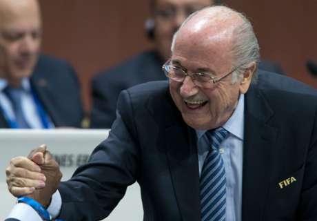 Blatter herkozen voor vijfde termijn