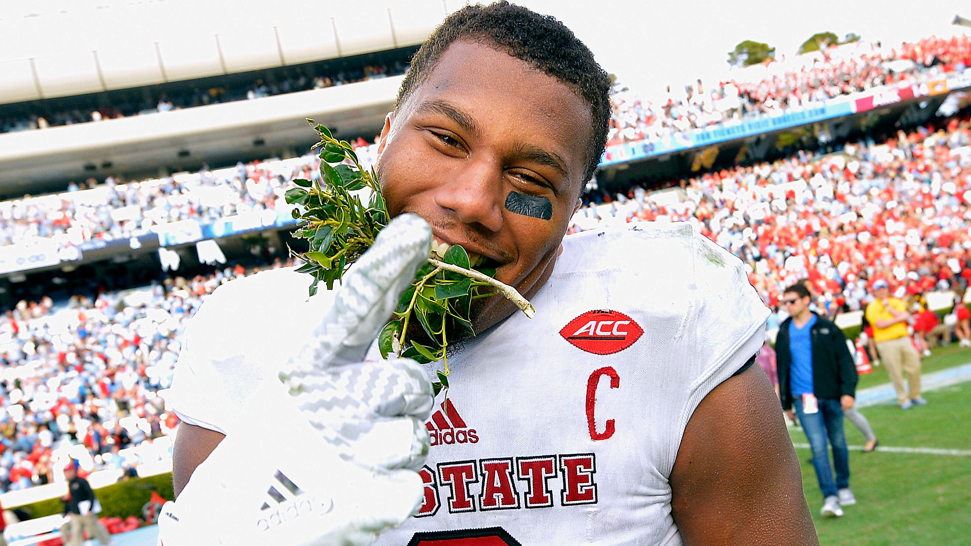 NC State's Bradley Chubb Spits On FSU Logo; Issues Apology