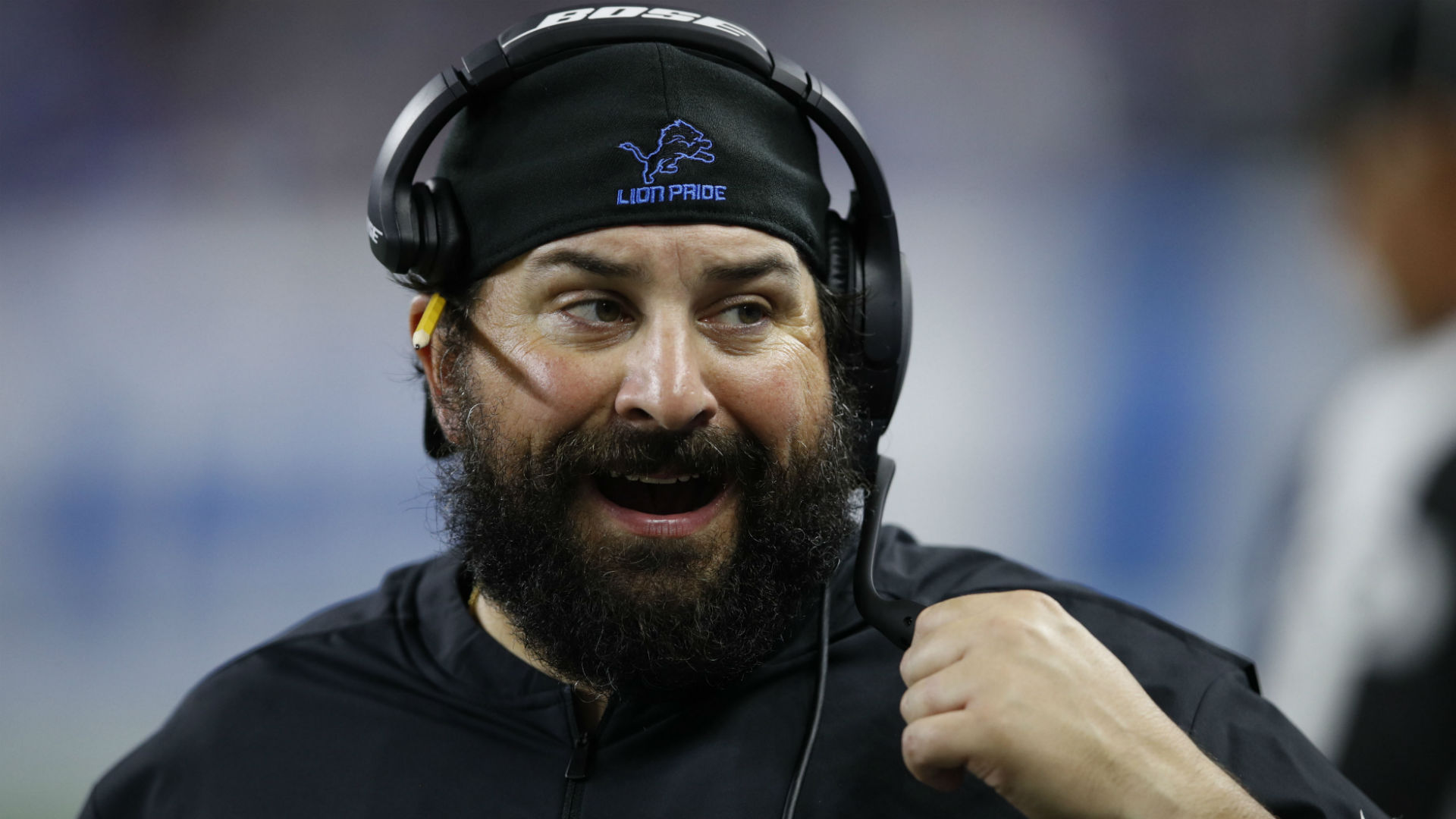 Lions coach Matt Patricia scolds reporter for his posture during press conference