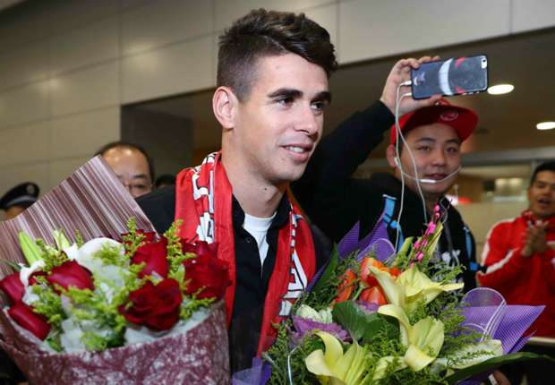 Chinese Super League can rival Premier League - Oscar