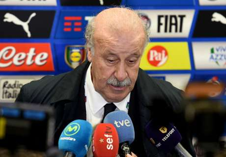 Del Bosque irked by Spain draws