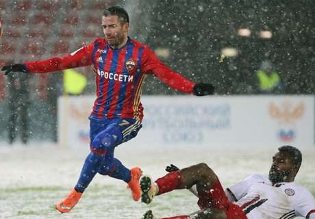 Spanish snow blights CSKA camp