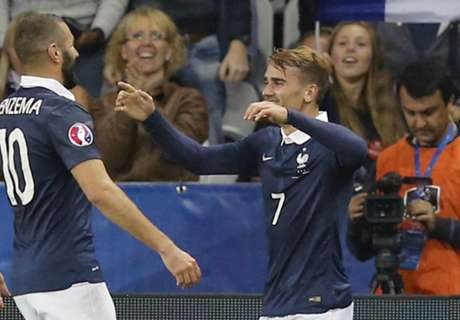 Griezmann: I'm not the anti-Benzema