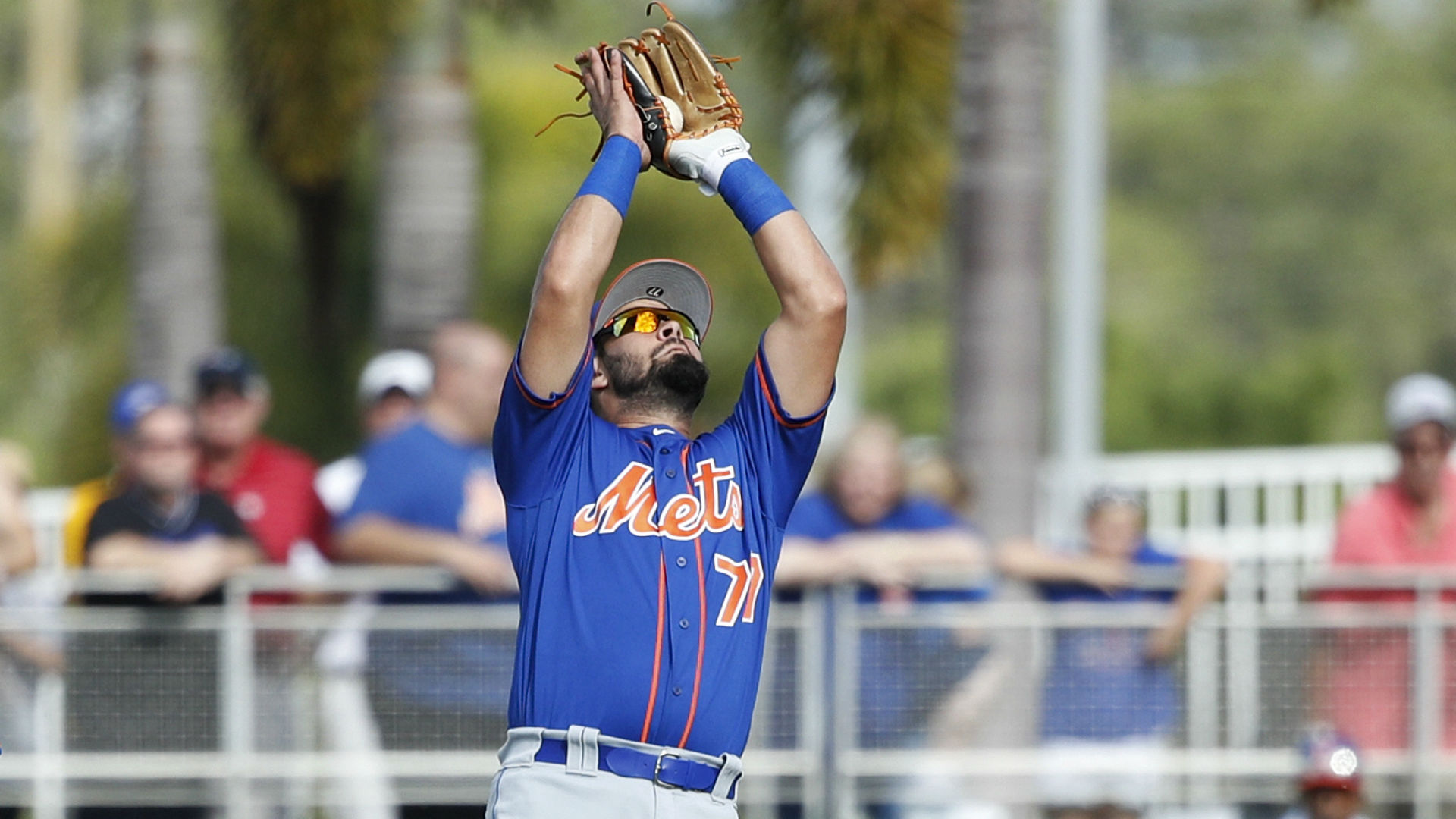 Mets Prospect Luis Guillorme smoothly snags flying bat