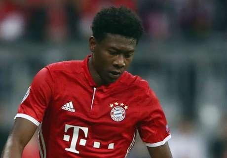 Alaba a doubt for Dortmund clash