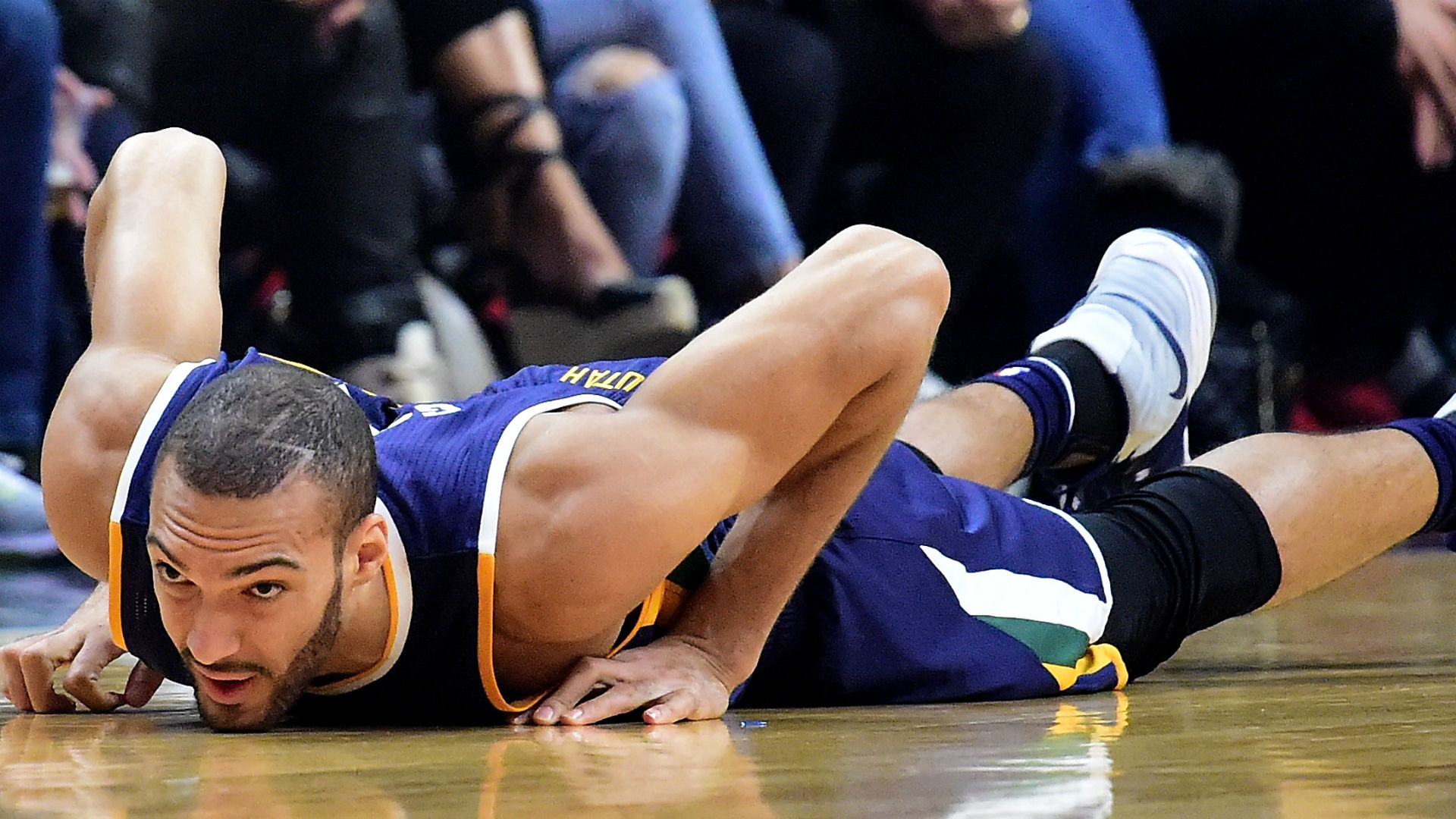 The Jazz Have Ruled Rudy Gobert Out For Game 2 vs
