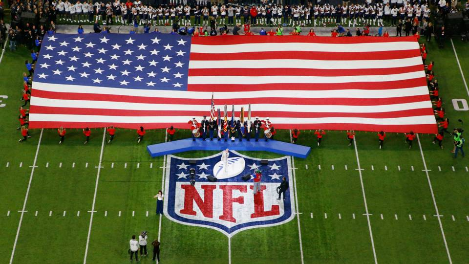 President Trump criticizes ESPN for not airing national anthem before 'Monday Night Football'