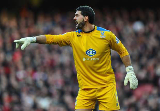 Speroni eyeing new Crystal Palace contract