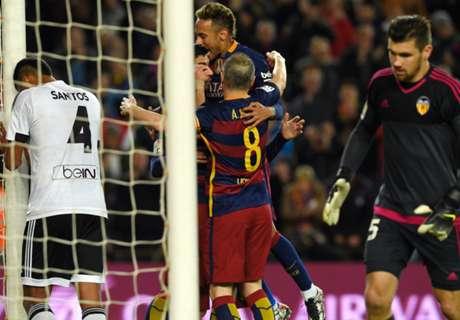 Betting: Valencia v Barcelona
