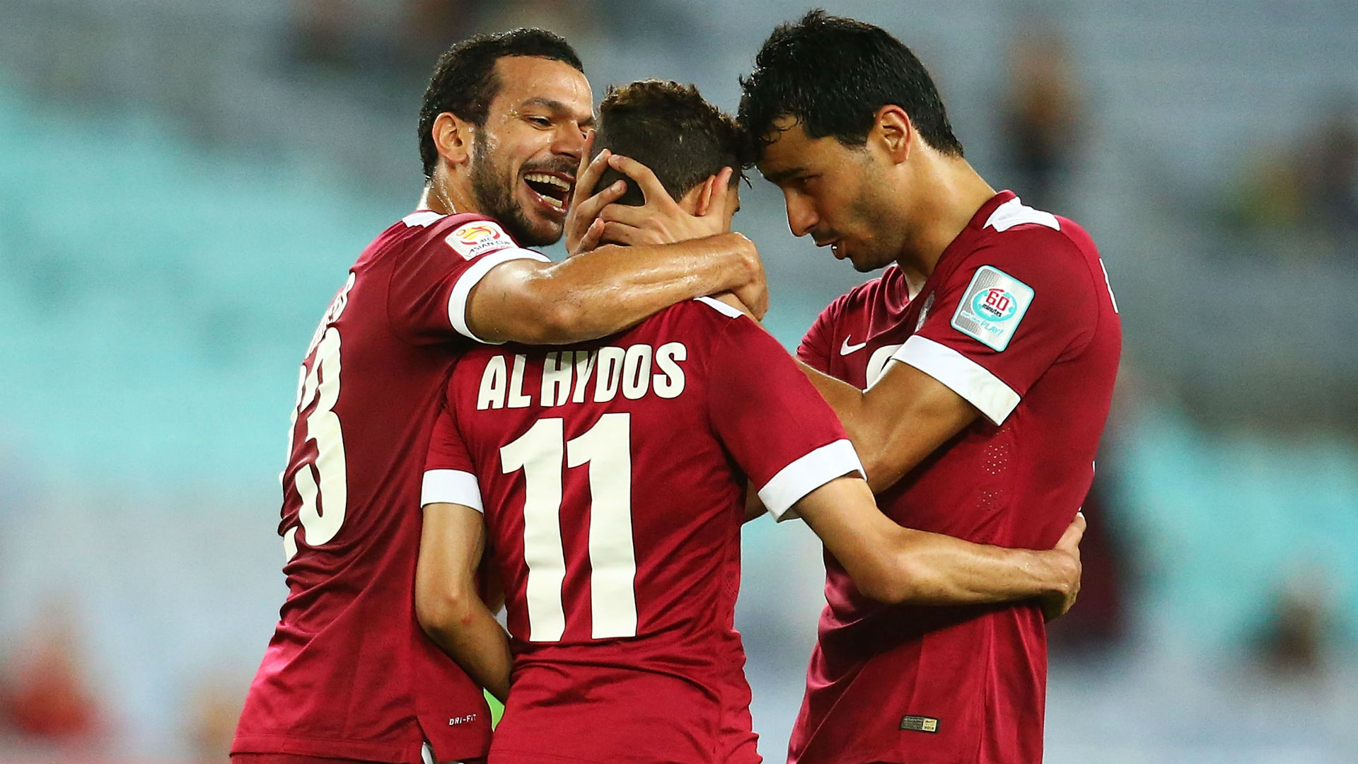 Qatar 3 South Korea 2: Al Haydos double holds off fightback