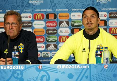 Hamren: Ibrahimovic is irreplaceable