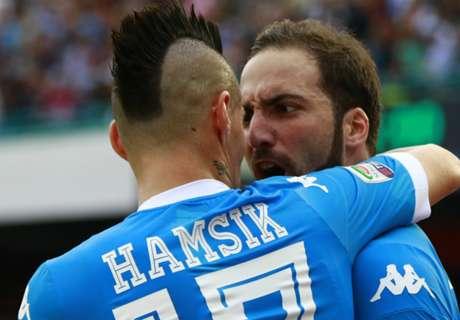 Hamsik eyes win over Higuain's Juve