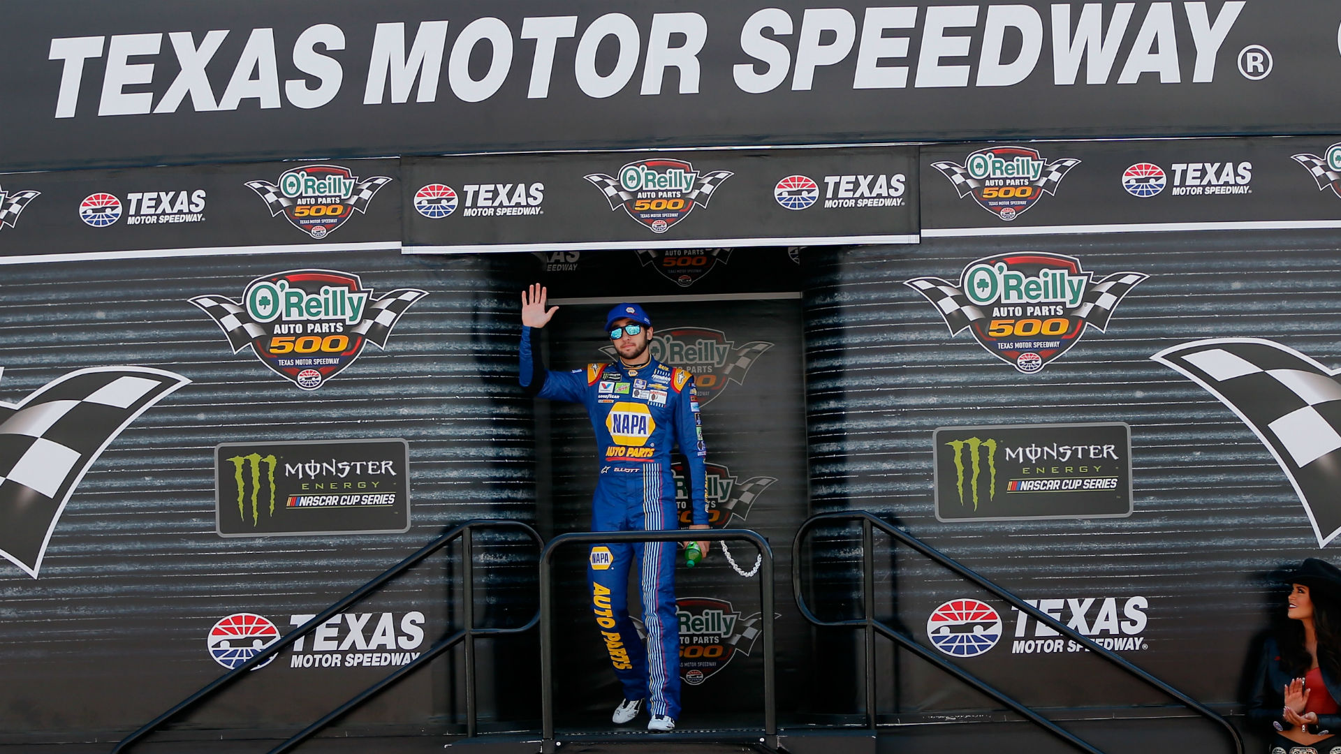 Lineup for texas motor speedway for Starting lineup texas motor speedway