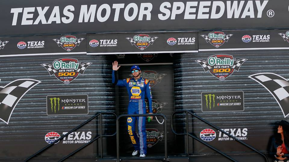 Nascar At Texas Playoff Standings Tv Schedule