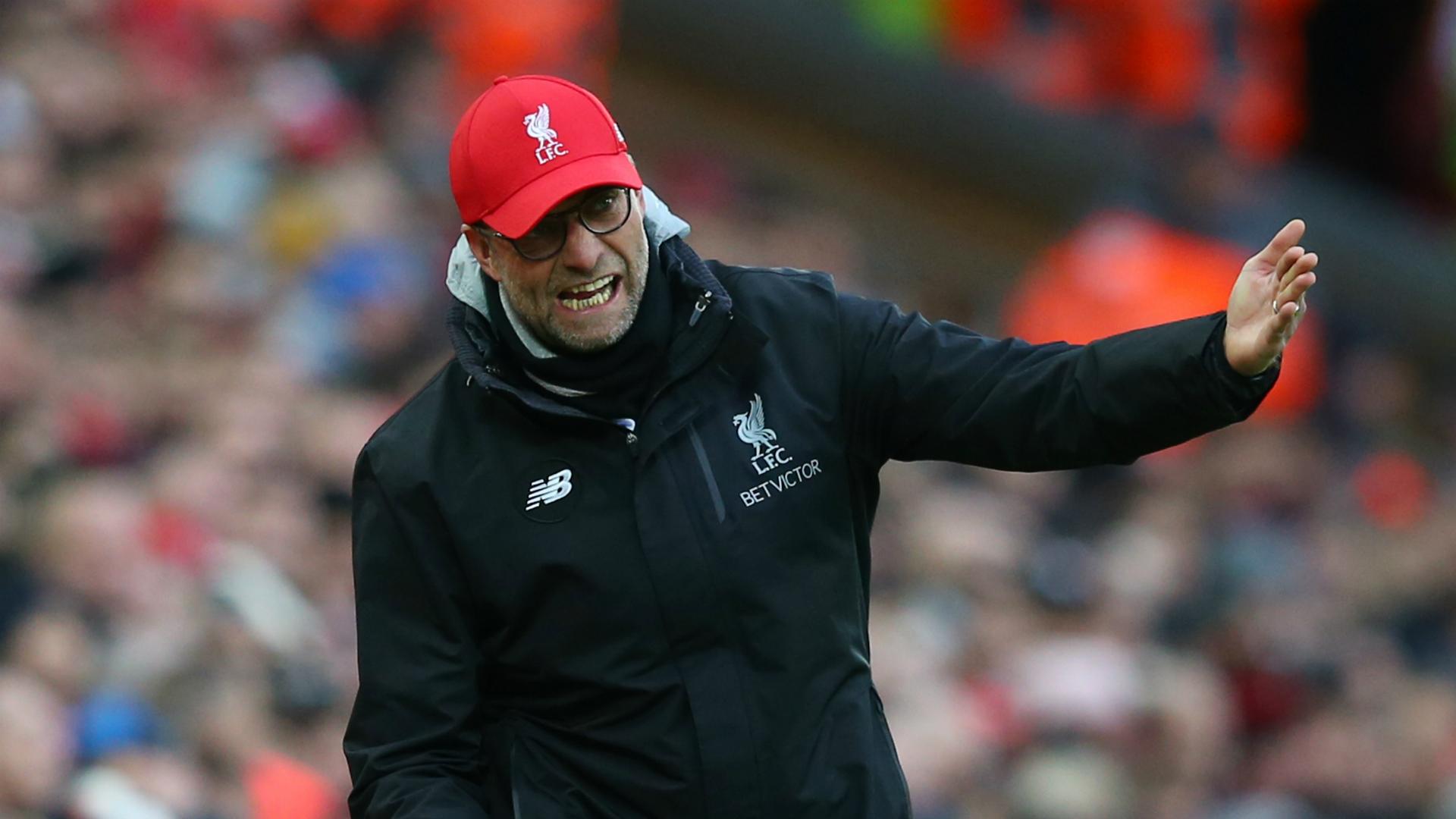 Jurgen Klopp accepts blame for Liverpool's Wolves defeat
