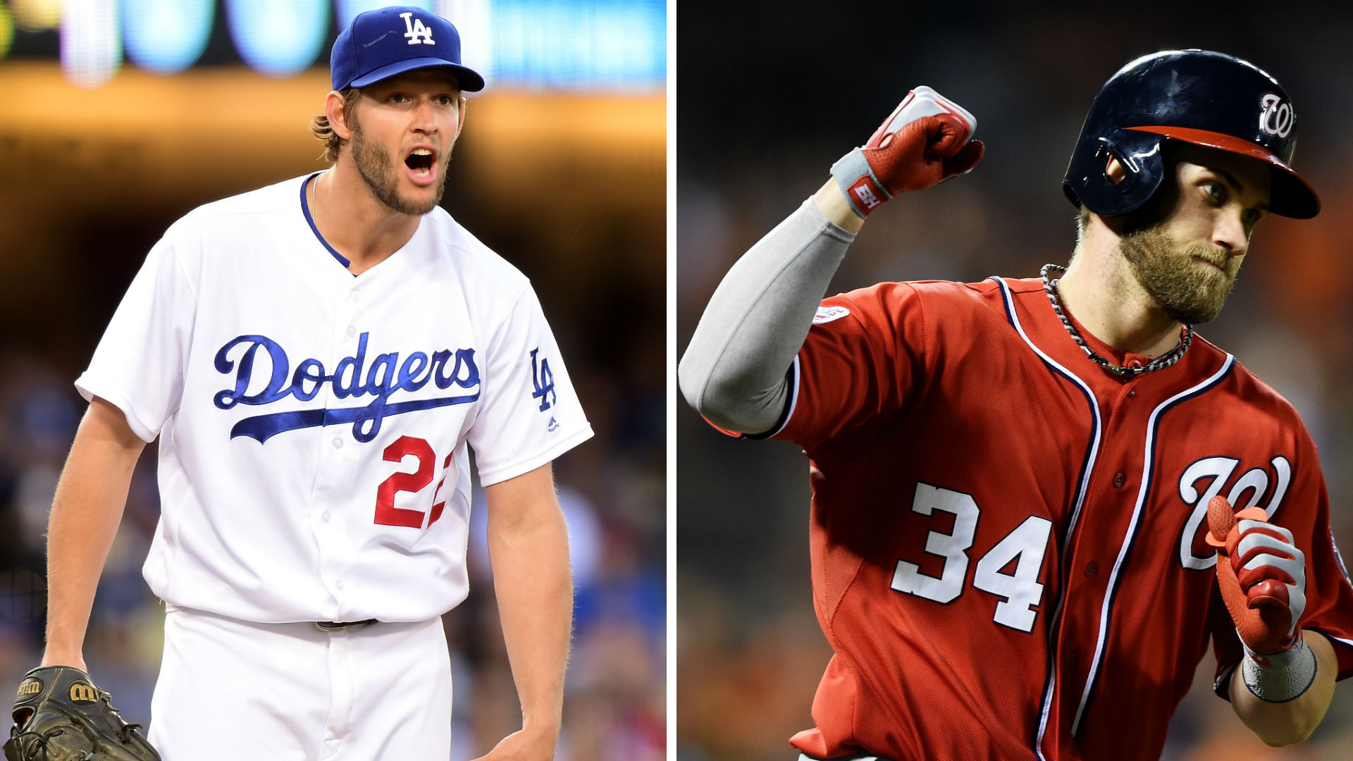 mlb playoffs 2016: dodgers-nationals nlds tv schedule, players to
