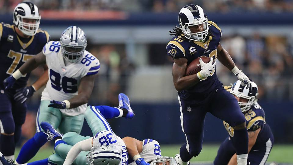 Rams RB Todd Gurley on facing Dallas in playoffs   Everybody I know hates  the Cowboys  382719147