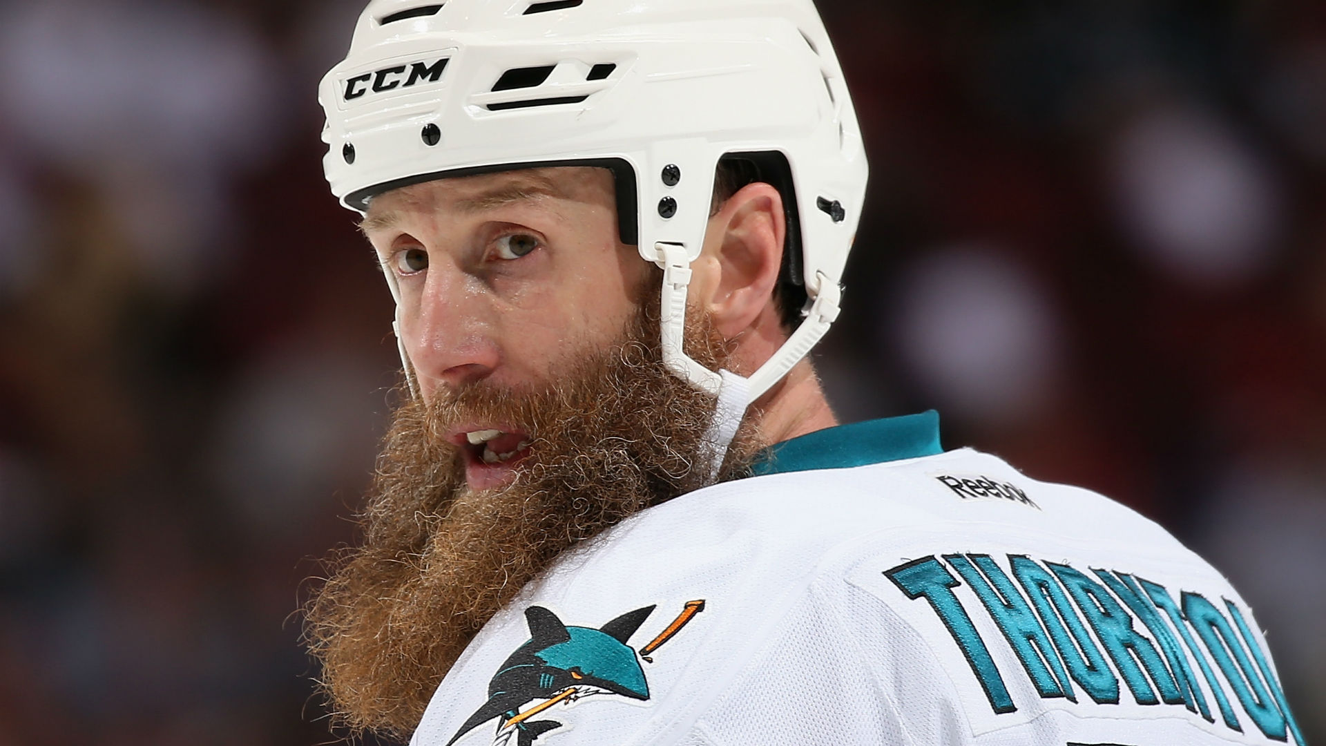 NHL playoffs 2019: Sharks' Joe Thornton suspended 1 game for illegal check