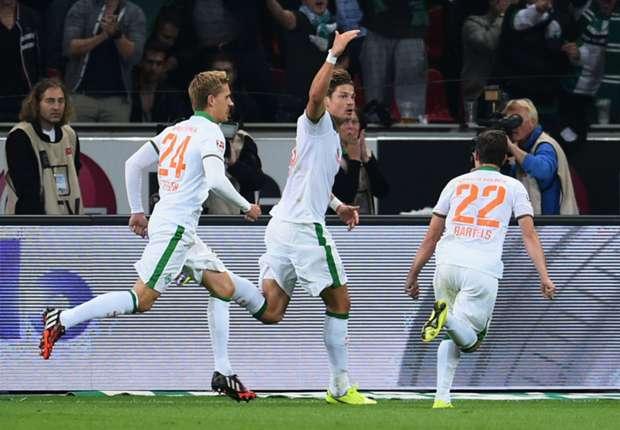 Bayer Leverkusen 3-3 Werder Bremen: Hosts held in six goal thriller