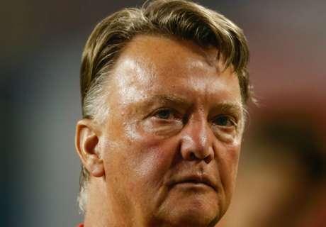 Van Gaal hints at 'surprise' new striker