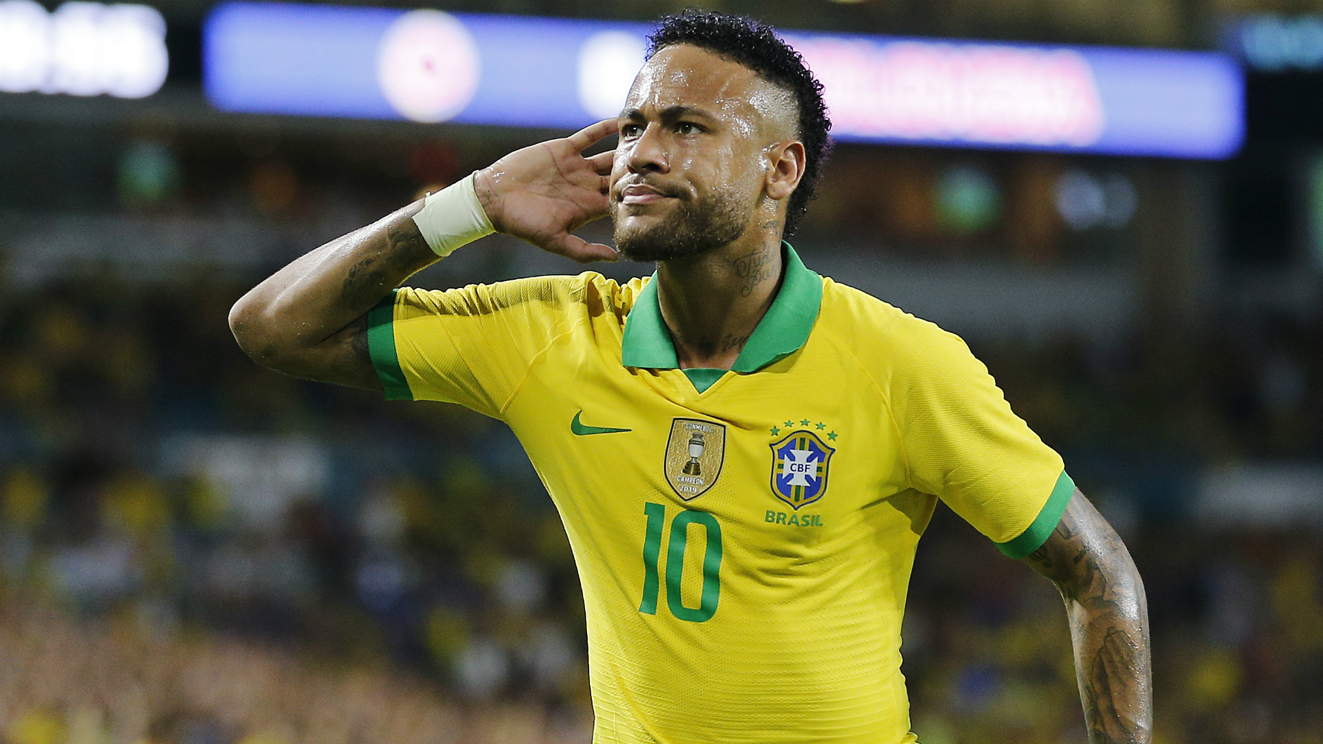 Brazil 2-2 Colombia: PSG star Neymar scores on return