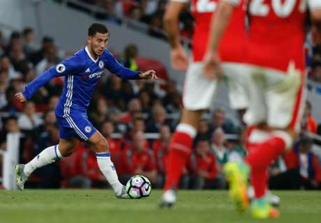 Hazard: No excuse for Arsenal loss