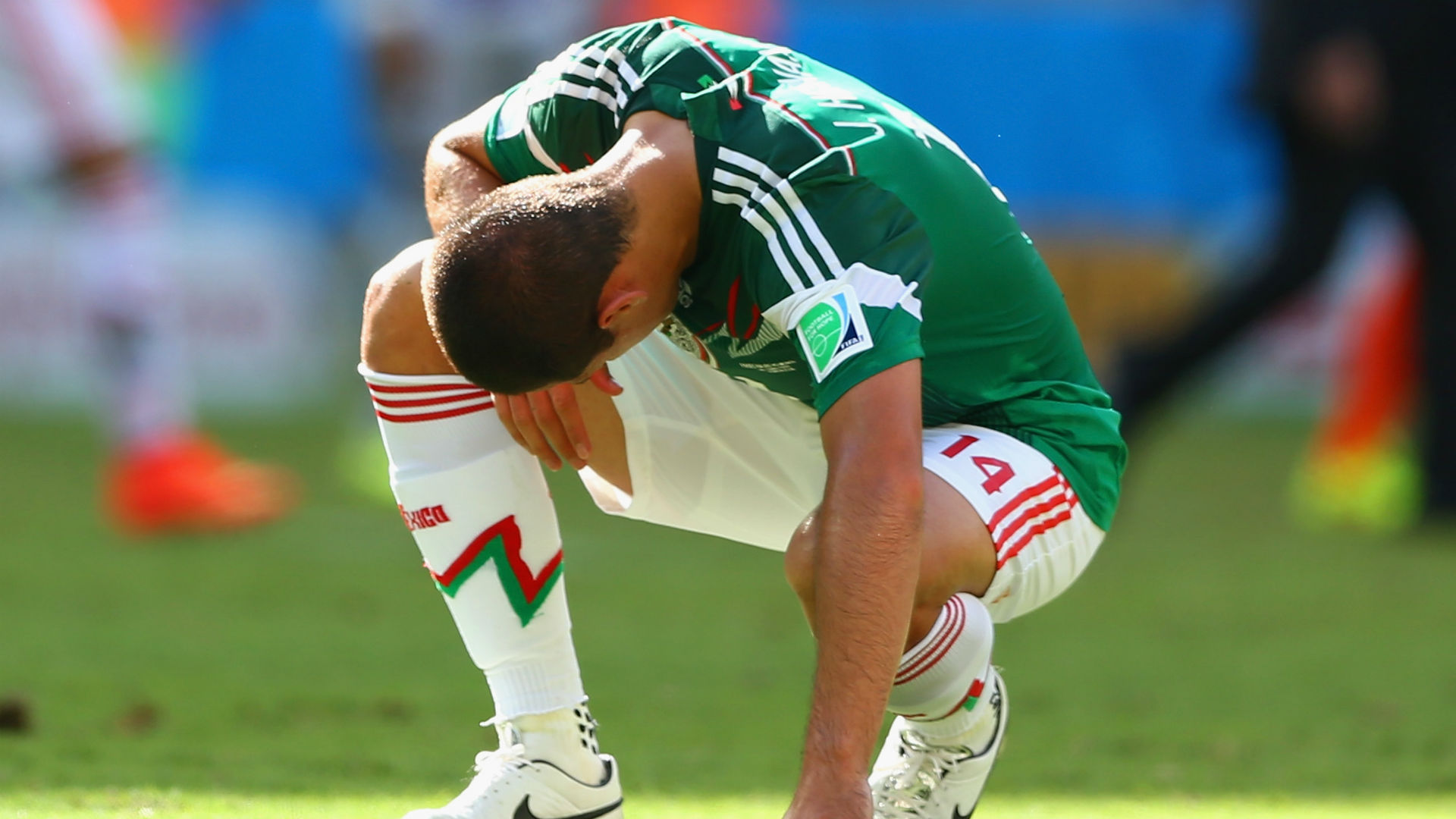 Neymar Had His Ankle Stepped On, Then Stepped on Mexico's Throat